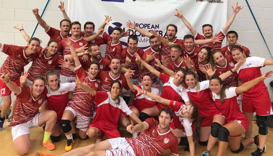 Équipe Suisse Dodgeball Glasgow 2017