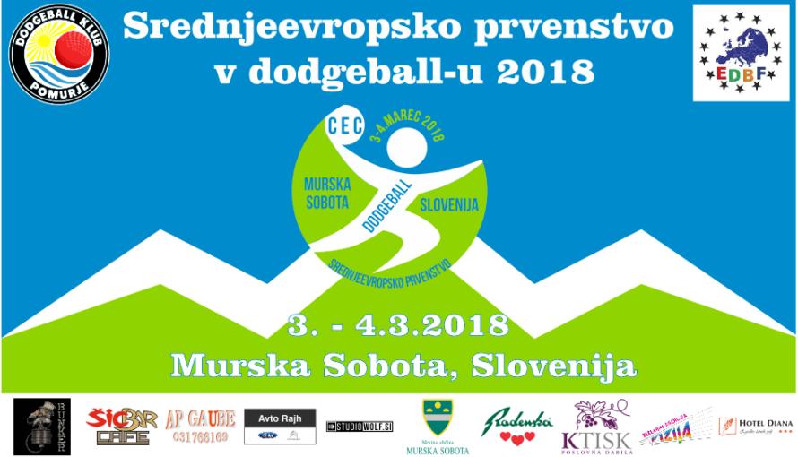 Affiche CEC 2018 Dodgeball