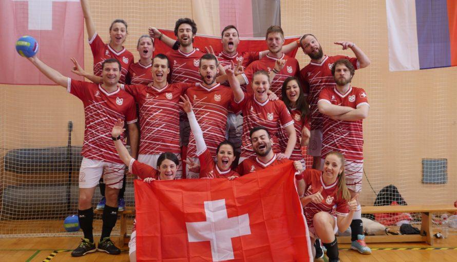 Équipe Suisse Dodgeball FSD CEC 2018