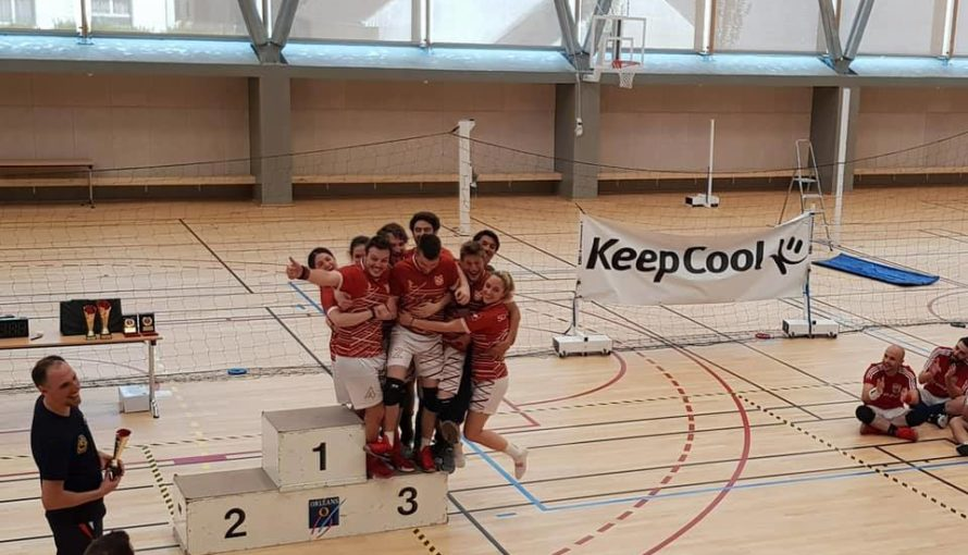 Open de France de dodgeball 2018 - podium suisse