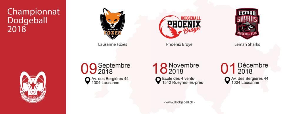 Championnat Suisse Dodgeball 2018