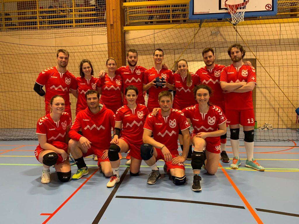 Dodgeball FSD Equipe suisse mixte CEC 2019