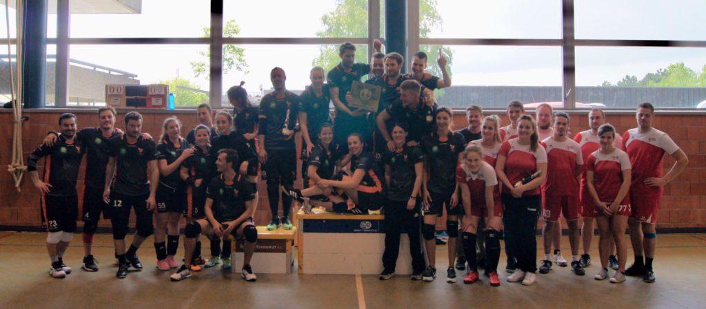 Podium championnat suisse dodgeball mixte 2019