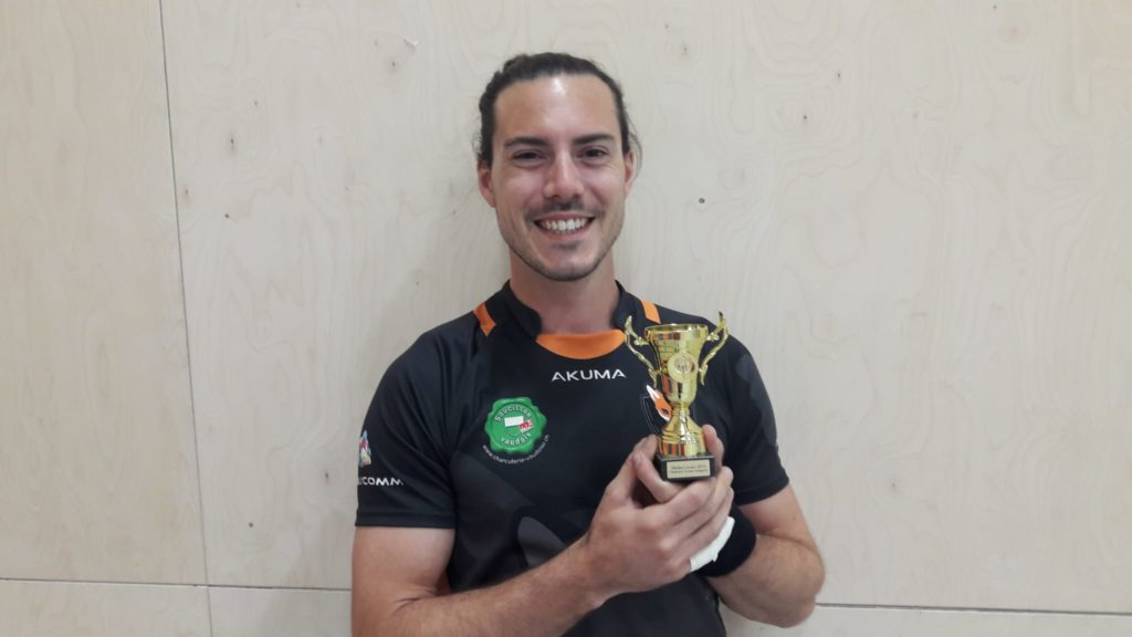 Greg Zoni MVP 2019 dodgeball suisse